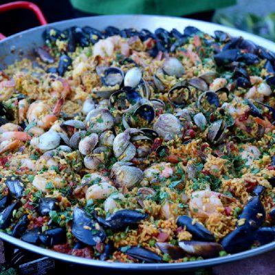 PNW Seafood Paella